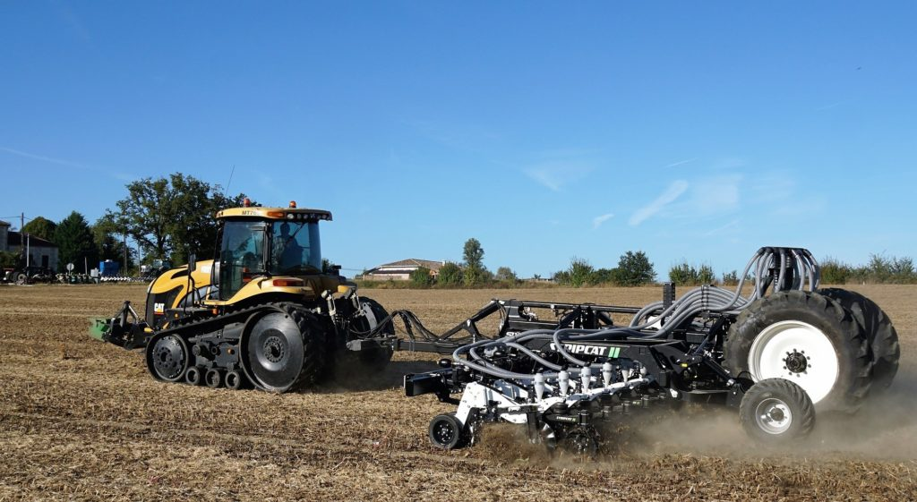 Технология Strip-Till Strip Cat